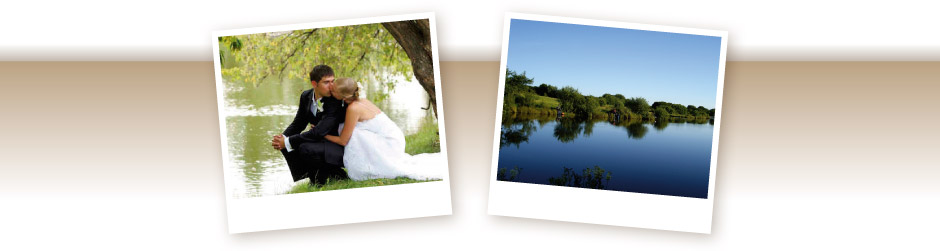Photos of married couple and of Sylen Lakes